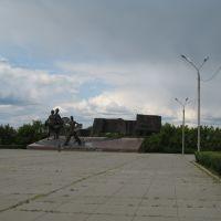 Площадь целинников, Костанай