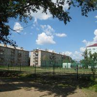 1 школа футбольное поле, Костанай