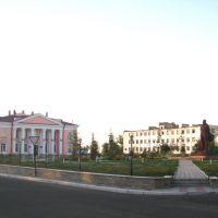 Main square, Курчатов