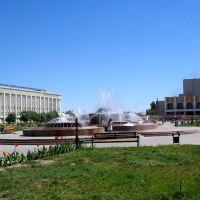 Центральная площадь, Кызылорда