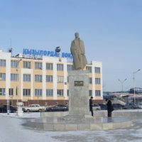 Памятник Гани Муратбаеву, Кызылорда