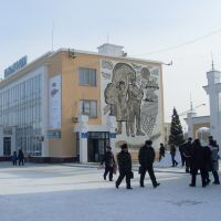 На перроне, Кызылорда