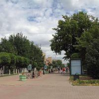 Пешеходная улица, Уральск