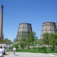 ТЭЦ г. Ленинска / Cogeneration plant of Baikonur, Байконур