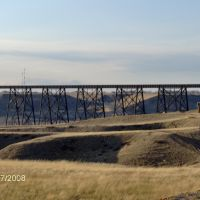 Railroad trestle Bridge, Lethbridge AB, Летбридж