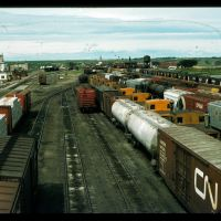 Lethbridge CPR Yard 1974, Летбридж