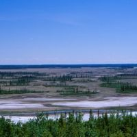 Salt Plain Lookout, Wood Buffalo National Park, Медикин-Хат