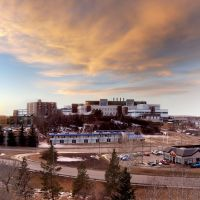Red Deer Regional Hospital from Rotary Park Hill, Ред-Дир