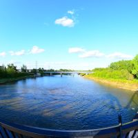 Red Deer River Downstream from CPR Bridge, Ред-Дир