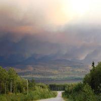 Colline en feu, Бурнаби