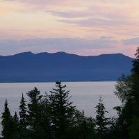 Sunset on Lake Stuart, Бурнаби