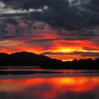 Decker Lake Sunset, Бурнаби