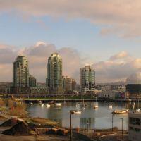 False Creek & Science World from BC Place Stadium, Ванкувер
