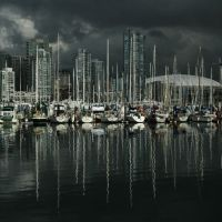 Storm over False Creek, Ванкувер