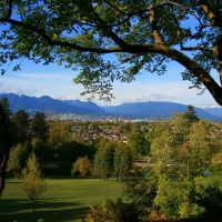 "Looking over ""the Couv"" from Queen Elizabeth Park, Vancouver B.C., Ванкувер"