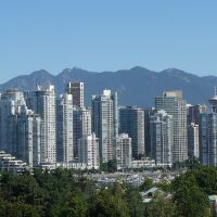 Downtown Vancouver viewed from Fairview Slopes, Ванкувер