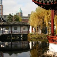 Dr. Sun Yat-Sen Classical Chinese Garden, Chinatown, Vancouver, British Columbia, Canada, Ванкувер