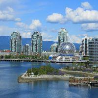 Science World, Vancouver, BC พิพิธภัณฑ์วิทยาศาสตร์ แวนคูเวอร์, Ванкувер