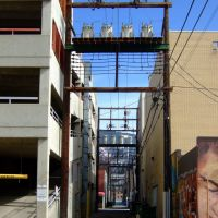 Downtown Alley, Vernon BC, Вернон