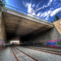 Railway Tunnel by Polson Park, Вернон