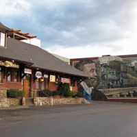 Vernon Downtown- Beautiful paintings, Вернон