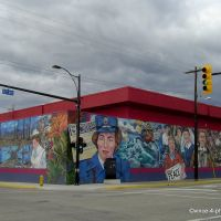 CANADA, BRITISH COLUMBIA - Just enjoy the famous murals of Vernon at the Okanagans Premier Art Walk -The World Wars-, Вернон