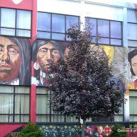 CANADA, BRITISH COLUMBIA - Just enjoy the famous murals of Vernon at the Okanagans Premier Art Walk -Multiculturalism, Вернон