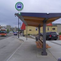 Vernon Transit Exchange Shelter, Вернон