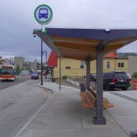 Vernon Transit Exchange Shelter, Вернон