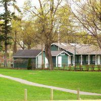 Lawn Bowling Area, Polson Park, Вернон