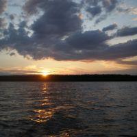 Sunset on Stuart Lake, Дельта