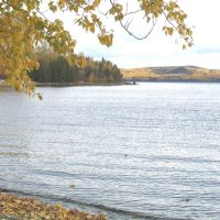 Francois Lake in fall, Дельта