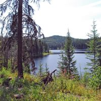 Kager Lake, near Burns Lake, Дельта
