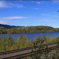 Decker Lake Yellowhead Hwy, Bulkley-Nechako A, BC, Kanada ... C, Дельта