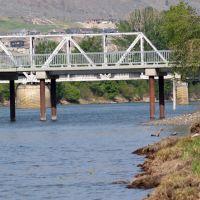 Train Bridge Riverside Park, Камлупс