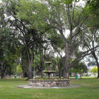 Floral Fountain, Riverside Park, Камлупс