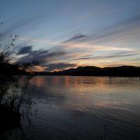 Sunset on Overlanders Bridge, Камлупс