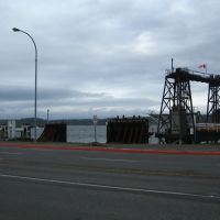 ferry dock, Кампбелл-Ривер