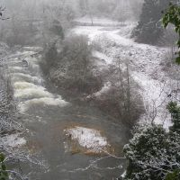 Millstone River, snow, Нанаимо