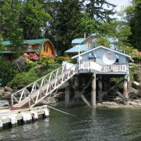 Protection Island (Nanaimo) - ramp from Dingy Dock Pub, Нанаимо