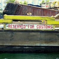Reserved for whose customs?, Нанаимо