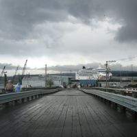 1st Cruse Ship to dock in Nanaimo ~ 2011, Нанаимо