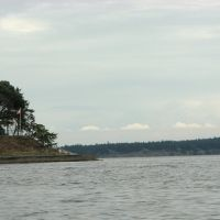 Light at Gallows Point on Protection Island - Nanaimo Harbour, Нанаимо