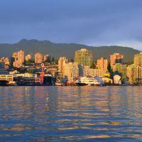 Vancouver Harbour 加拿大 温哥華海港, Норт-Ванкувер