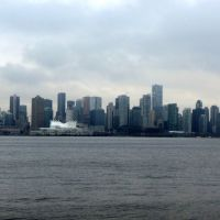 Vancouver Skyline from North Vancouver - Lhorizon de Vancouver, Норт-Ванкувер