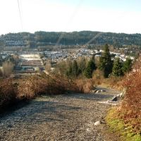 Coquitlam Crunch looking South from the second pass of Landsdown Drive, Порт-Муди