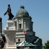 Statue de Champlain, Броссард