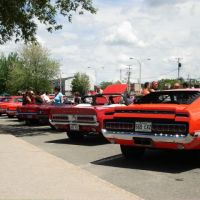 Guiness World Record, 625 Mustangs Victoriaville, Викториавилл