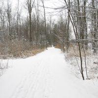 En sentier de ski de fond, Драммондвилл