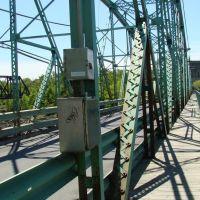 Pont Curé Marchant , traverse à vélo et piéton(Old Bridge), Драммондвилл